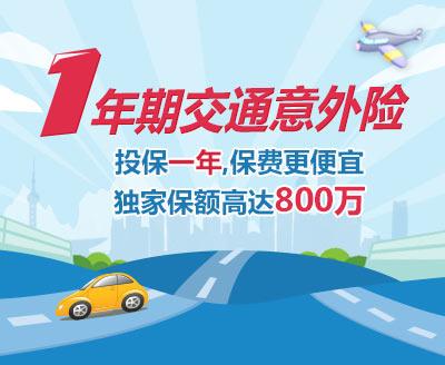 公共交通意外险 中国农业银行